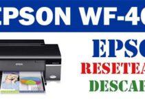 Resetear impresora Epson WorkForce 40