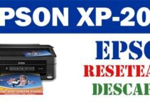 Resetear impresora Epson XP-200