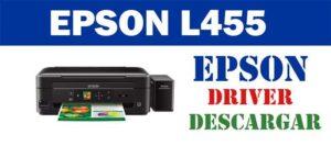 Descarga gratuita del controlador / driver de impresora / escáner Epson L455 2021