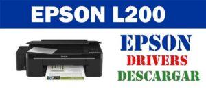 Descargar controlador / driver de impresora / escáner Epson EcoTank L200