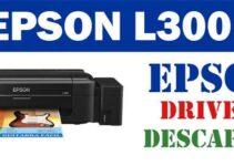 Descargar controlador / driver de impresora / escáner Epson EcoTank L300