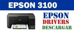 Descargar controlador / driver de impresora / escáner Epson L3100