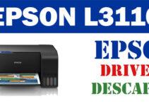 Descargar controlador / driver de impresora / escáner Epson L3110