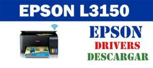 Descargar controlador / driver de impresora / escáner Epson L3150