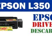 Descargar controlador driver de impresora escáner Epson L350