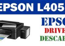 Descargar controlador / driver de impresora / escáner Epson L405