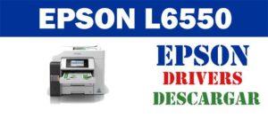 Descargar driver / controlador de impresora / escáner Epson EcoTank L6550