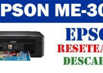 Descargar la herramienta de reinicio gratuita Epson ME-303