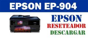 Descargar programa de ajuste del reseteador Epson Stylus EP-904
