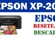 Descargar programa de ajuste del reseteador Epson XP-202