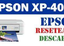 Descargar programa de ajuste del reseteador Epson XP - 405