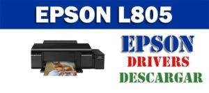 Driver controlador de impresora escáner Epson EcoTank L805