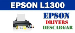 Driver / controlador de impresora / escáner Epson L1300