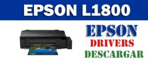 Driver / controlador de impresora / escáner Epson L1800