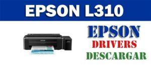 Driver / controlador de impresora / escáner Epson L310