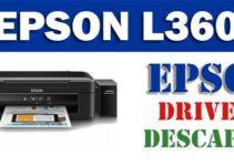 Driver controlador de impresora escáner Epson L360