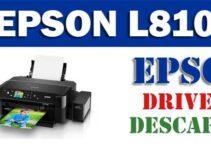 Driver / controlador de impresora / escáner Epson L810