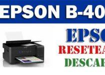 Resetear impresora Epson B-40