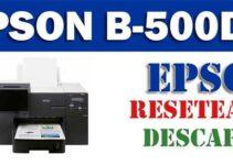 Resetear impresora Epson B-500DN