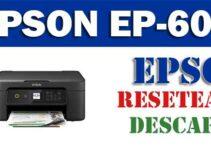 Resetear impresora Epson EP-603