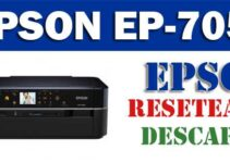 Resetear impresora Epson EP-705