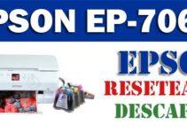 Resetear impresora Epson EP-706A