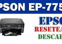 Resetear impresora Epson EP-775A
