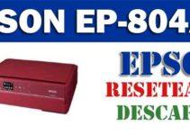 Resetear impresora Epson EP-804AR