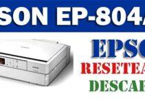 Resetear impresora Epson EP-804AW