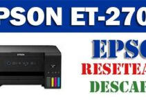 Resetear impresora Epson EcoTank ET-2700