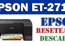 Resetear impresora Epson EcoTank ET-2710