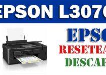 Resetear impresora Epson L3070