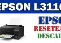 Resetear impresora Epson L3110