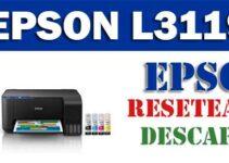 Resetear impresora Epson L3119