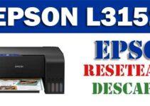 Resetear impresora Epson L3151