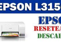 Resetear impresora Epson L3156