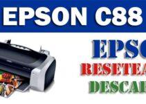 Resetear impresora Epson Stylus C88