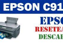 Resetear impresora Epson Stylus C91