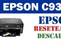 Resetear impresora Epson Stylus C93