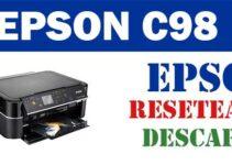 Resetear impresora Epson Stylus C98