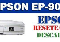 Resetear impresora Epson Stylus EP-906