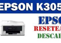 Resetear impresora Epson Stylus K305