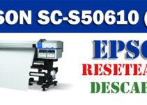 Resetear impresora Epson SureColor SC-S50610 (4C)