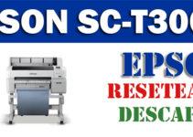 Resetear impresora Epson SureColor SC-T3000