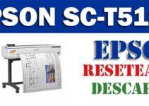 Resetear impresora Epson SureColor SC-T5100