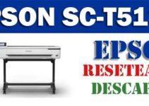 Resetear impresora Epson SureColor SC-T5130