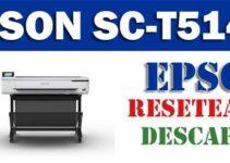 Resetear impresora Epson SureColor SC-T5140