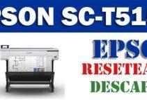 Resetear impresora Epson SureColor SC-T5150-