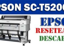 Resetear impresora Epson SureColor SC-T5200