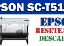 Resetear impresora Epson SureColor T5160